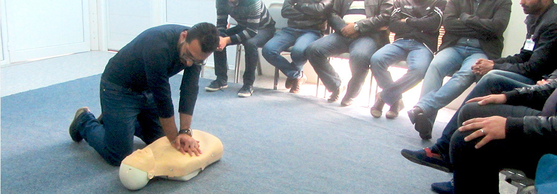 first aid emergency training center - Tunisia