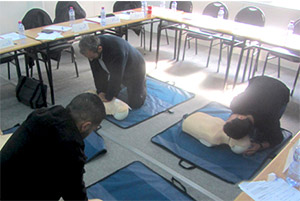 first aid emergency first response Tunisia